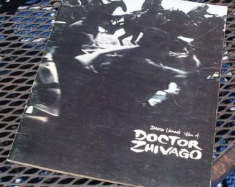 Original David Lean's film of Doctor Zhivago Book