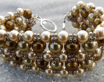 Pearls and More Beaded Bracelet