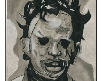 Leatherface Print