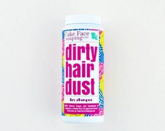 Dry shampoo for brunettes, redheads, and blondes talc-free aluminum-free sulfate-free