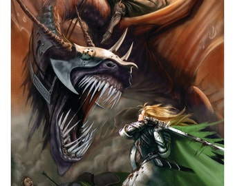 Lord of the Rings, Return of the King Rohirrim ,Eowyn and the Nazgul, Witch King