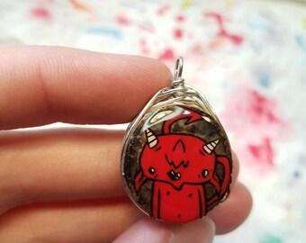 Lil devil pendant