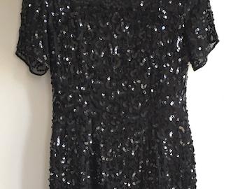 Vintage 80's Sequin Dress
