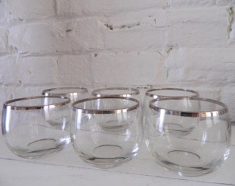 Vintage Roly Poly Glasses - Mad Men - Mid Century
