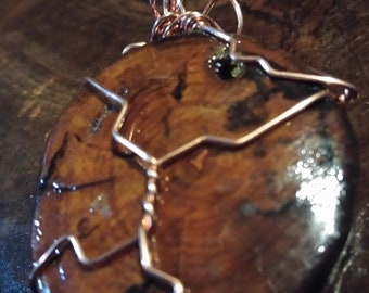 HANDCRAFTED pendant ONE of a kind