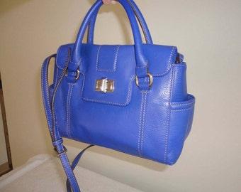 Small Fine Leather Tignanello Handbag 9 1/2 x 8 x 4 1/4