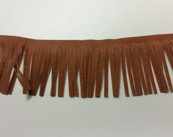 Simplicity  2 inch Tan Suede Fringe