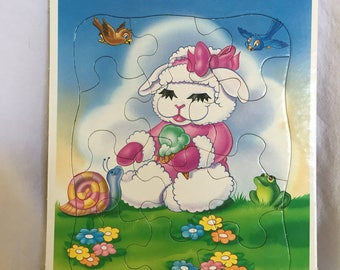 Baby Lamb Chop & Friends Frame Tray Puzzle!