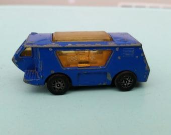Vintage Corgi Juniors Blue Wigwam Van Camper Free Shipping