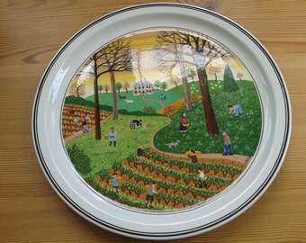 Reduced Price - Villeroy and Boch Four Seasons Autumn Plate
