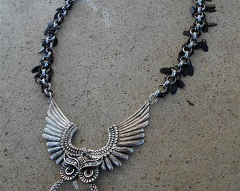 On Dark Wings Necklace