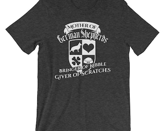 Mother of German Shepherd Dogs Funny Cute Family Treat