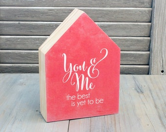 Little Wood House, YOU & ME, Modern Style Home Decor