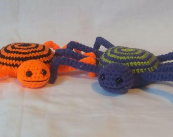 Crochet Spider - Spider Soft Toy - Spider Gifts - Handmade Spider - Insects - Boys Toys - Creepy Crawlies - Arachnid