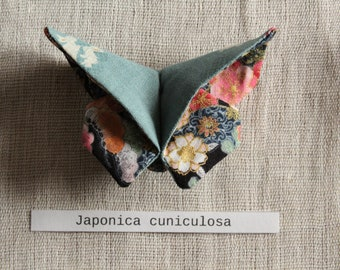 Butterfly origami brooch hair clip