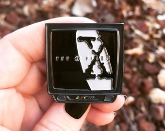 The X-Files TV Enamel Pin