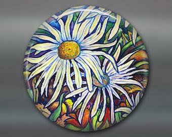Large flower magnets locker decorations, fridge magnets, cute gift ideas for gardeners - MA-500