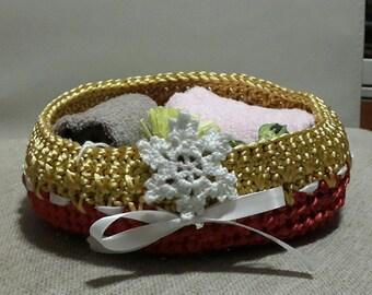 Scented Basket Crochet