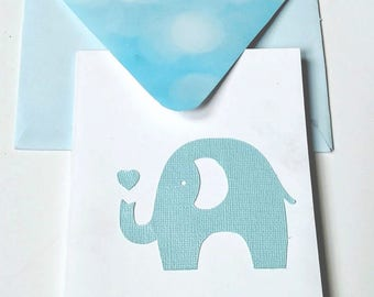 Blue Baby shower invitations (pack of 10)