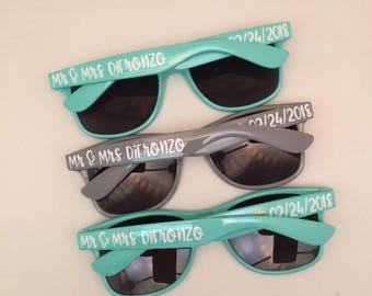 Bachelorette Sunglasses, Bridesmaid Proposal, Personalized Sunglasses, Custom Sunglasses, Bachelorette Party, Wedding Favors, Bachelorette