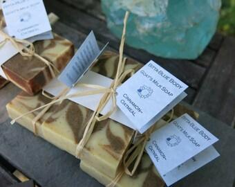 Cinnamon Oatmeal Goat's Milk Soap