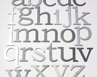 "Classic 4"" Lowercase 
