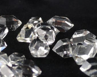 Herkimer Diamond, Double Terminated Quartz, Herkimer Quartz, Jewelry Quality Herkimer Diamond, Water Clear Herkimer Diamond, 7mm