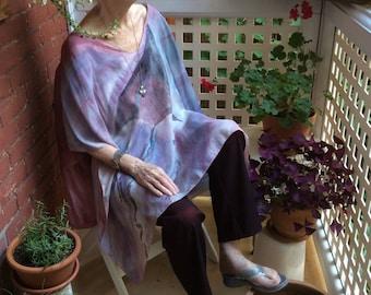 Wheel - Silk tunic KITE deer silk tunic