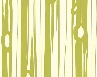 Organic Crib Sheet, Changing Pad Cover, Bear Bois Grass, Birch Organic Fabric, Bear Hike, Organic Crib Bedding, Organic Nursery Bedding,