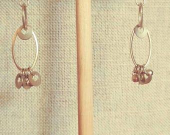 Vintage recycled Earrings