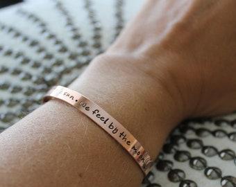Custom Mantra Bracelets for Kelly