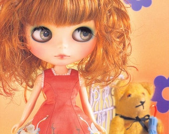 Out-of-print Blythe Collection 32 - Animal Lover Dolly Clothing Bible - Japanese craft book