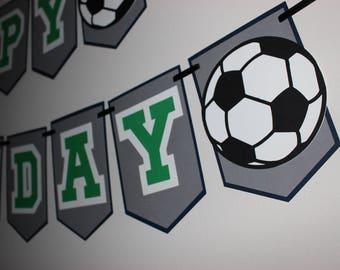 Soccer Banner, Athlete Banner, Soccer Birthday Party