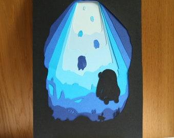 Underwater, Paper Cut