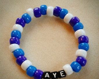 Scottish Voters Bracelet - Scottish Independence Referendum - Yes Vote - Always Aye - Aye Bracelet - Yes Bracelet