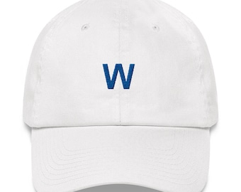 W Flag Dad Hat - W Flag Hat - W Flag - W Hat - Cubs Hat - Fly the W - Chicago Cubs - Cubs  - Chicago Cubs Hat - Fly the W Hat - Cubs W - W