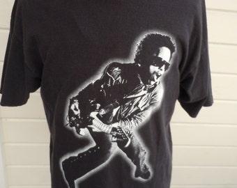Size XL+ (51) ** 1990s Lenny Kravitz Concert Shirt (Double Sided)