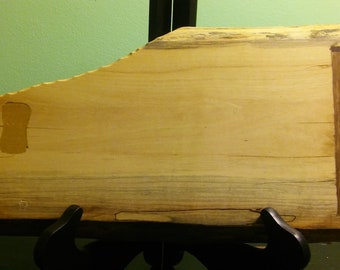 Live edge maple cutting board with mulberry and walnut inlay *SALE!*