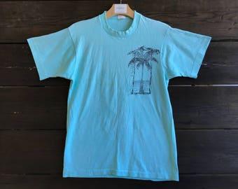 Vintage 90s Palm Tee
