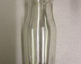 1/2 pint milk bottle