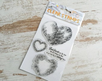 "Clear stamps ""good friends"""