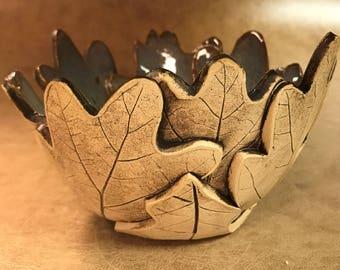 Medium Oak Leaf Bowl 79