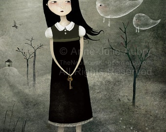 The Kingdom of Shadows I  15/50 - Deluxe Edition Print - Whimsical Art