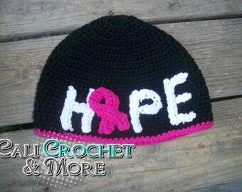 Crochet Hope Hat