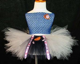 MLB New York Yankees Themed Tutu Skirt