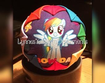 Rainbow  dash my little pony Custom ornament
