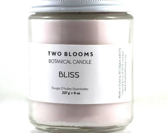 Geranium Soy Wax Candle, Natural Candle, Soy Candle, Victoria BC, Vancouver Island
