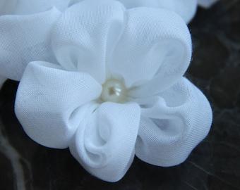 Bridal Flower Hair Clip/ Wedding Hair accessories/ Wedding Flower Hair Clip/ Bridal headpiece/ Flower hair clips/ Hair piece wedding