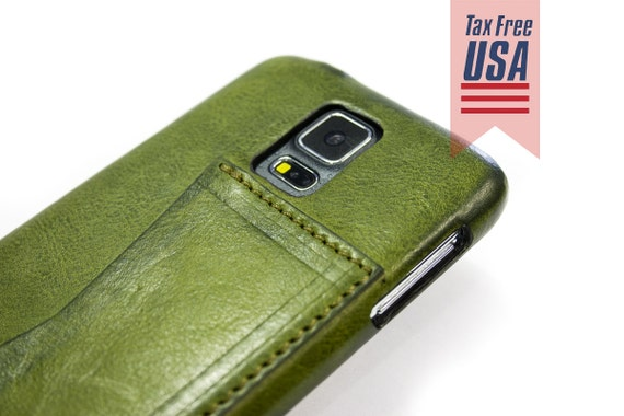NEW Note 8 and Samsung Galaxy S7 S6 Edge Plus S5 Note 5 4 Leather Case natural leather option credit card to use as protection colour CHOOSE