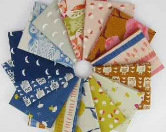 Firelight COTTON Fat Quarter Bundle by Cotton + Steel - 14 Fat Quarters - 3.5 Yards Total